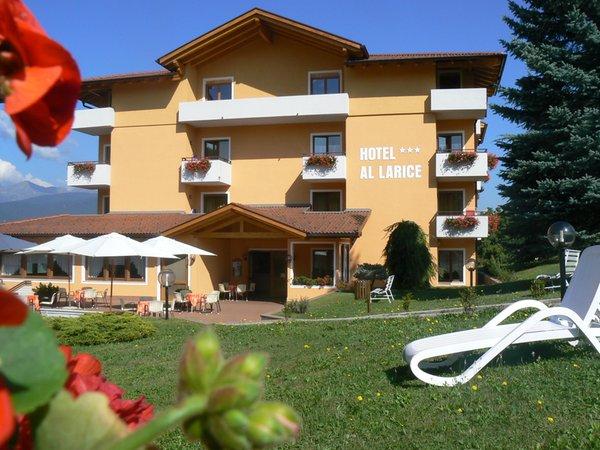 Foto estiva di presentazione Hotel Al Larice