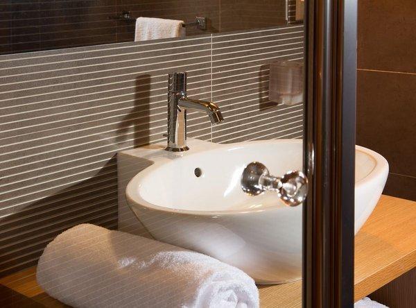 Foto del bagno Albergo Cavallino Bianco