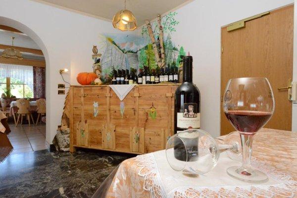 Il ristorante Fondo (Fondo - Mendola) Aurora - Alpin Gourmet