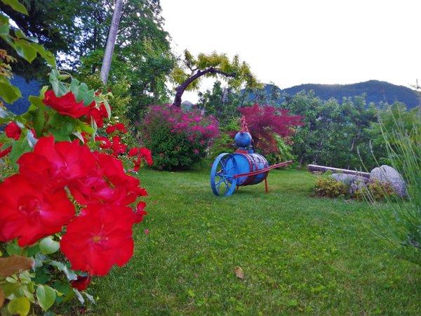 Foto del giardino Tuenno (Val di Non)