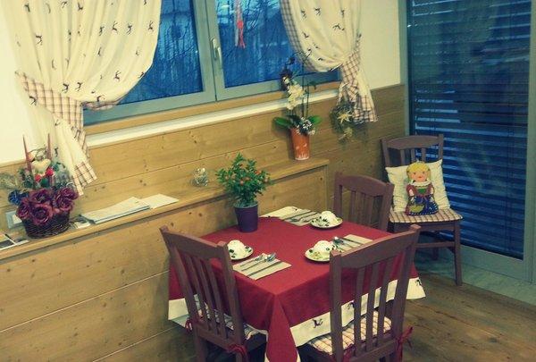 Il ristorante Tuenno (Val di Non) Agritur Leita