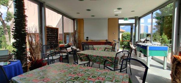 Das Restaurant Tuenno (Nonstal) Agritur Leita