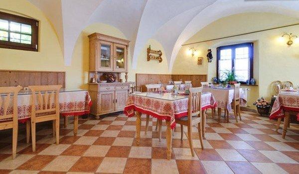 Il ristorante Brez (Val di Non) La Canonica