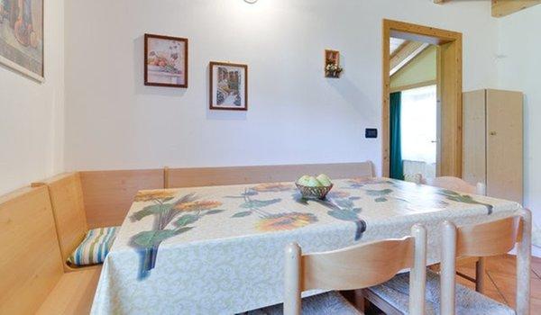 La zona giorno La Canonica - Camere + Appartamenti in agriturismo 4 fiori