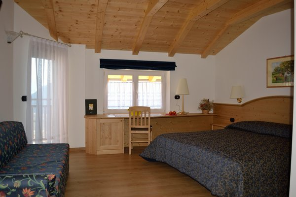 Foto della camera Camere + Appartamenti in agriturismo Monte Pin
