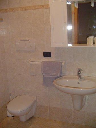 Foto del bagno Camere + Appartamenti in agriturismo Al Ranch