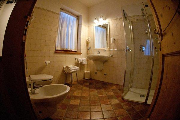 Foto del bagno Camere + Appartamenti in agriturismo Renetta
