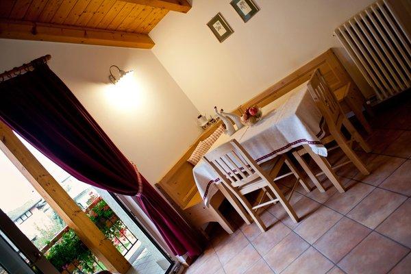 La zona giorno Renetta - Camere + Appartamenti in agriturismo 4 fiori