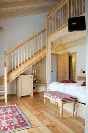 La zona giorno Golden Pause - Camere + Appartamenti in agriturismo 4 fiori