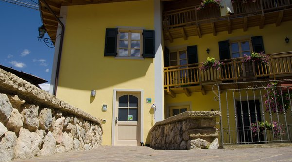 Photo exteriors in summer Farmhouse Hotel Agritur Sandro