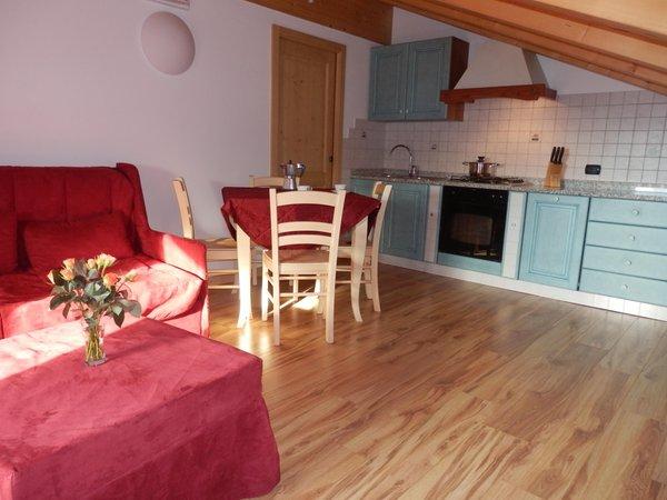 The living area Casa Camillo - Rooms + Apartments 2 suns