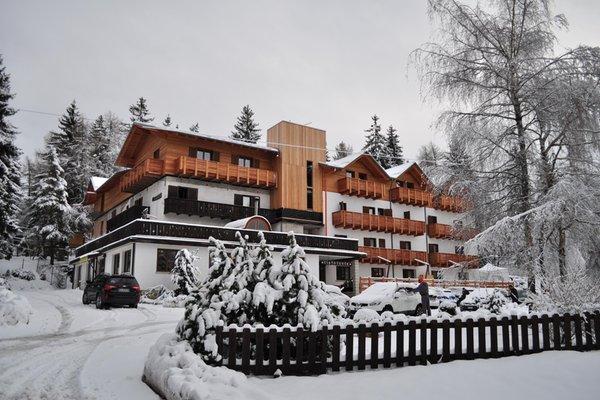 Foto invernale di presentazione Rifugio Sores - Hotel