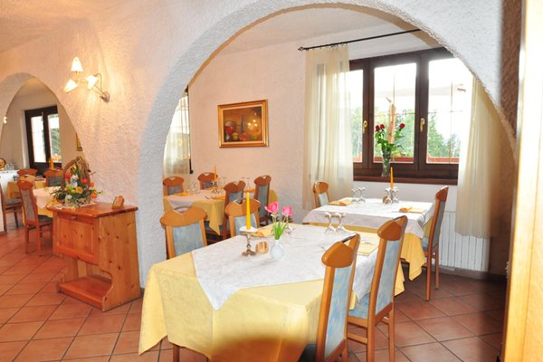Il ristorante Tres (Val di Non) Rifugio Sores