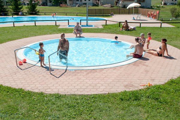 Swimming pool Camping Park Baita Dolomiti Village