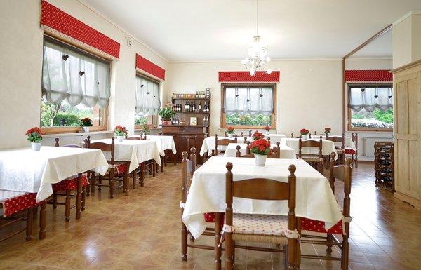 Il ristorante Cavareno (Fondo - Mendola) Piccolo Hotel Bruno