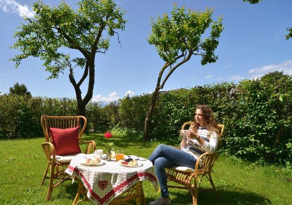 Foto del giardino Cavareno (Fondo - Mendola)