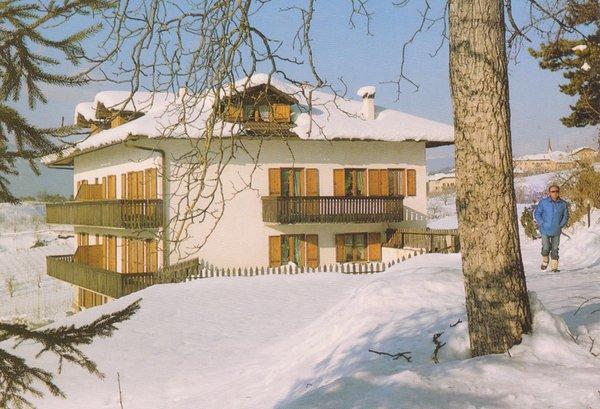 Foto invernale di presentazione Appartamenti in agriturismo Leonardelli Pio