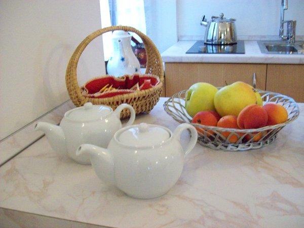 La colazione Agritur Rizzi - Camere + Appartamenti in agriturismo 2 fiori