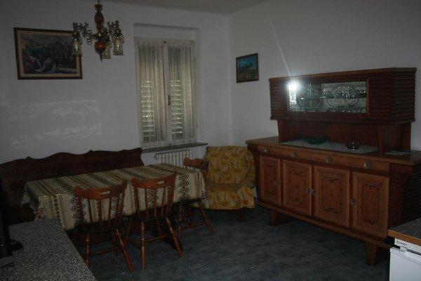 La zona giorno Tamé Aldo - Appartamenti 2 genziane