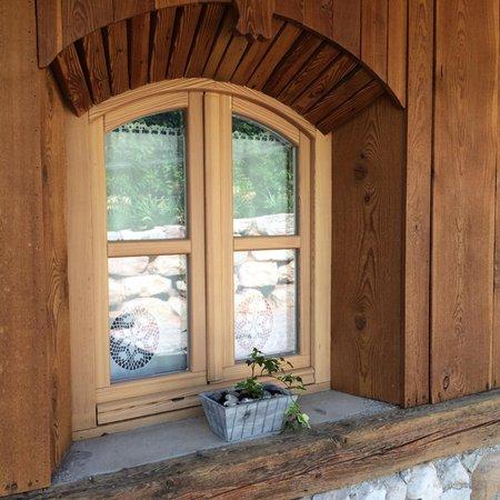 Foto di alcuni dettagli Alpenvidehof