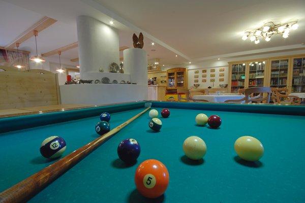 La sala giochi Hotel Stella delle Alpi Wellness & Resort