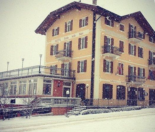 Foto invernale di presentazione Stella delle Alpi Wellness & Resort - Hotel 3 stelle sup.