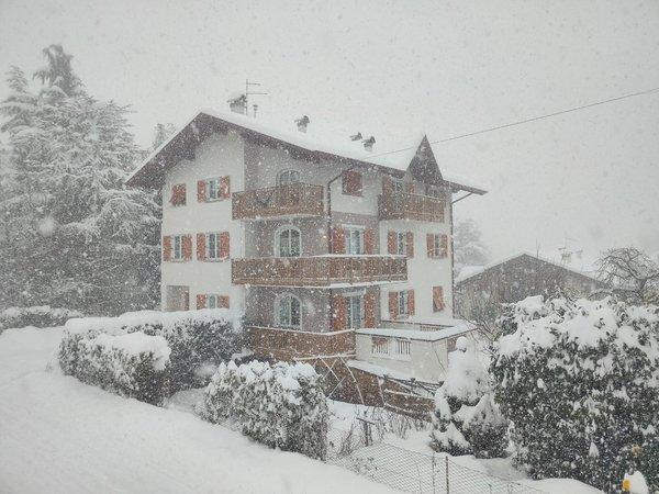 Foto invernale di presentazione Appartamenti in agriturismo Il Granello