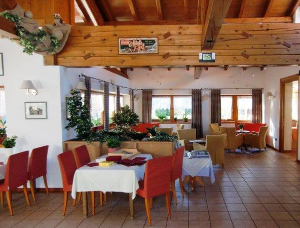 Il ristorante Sarnonico (Fondo - Mendola) Golf Dolomiti