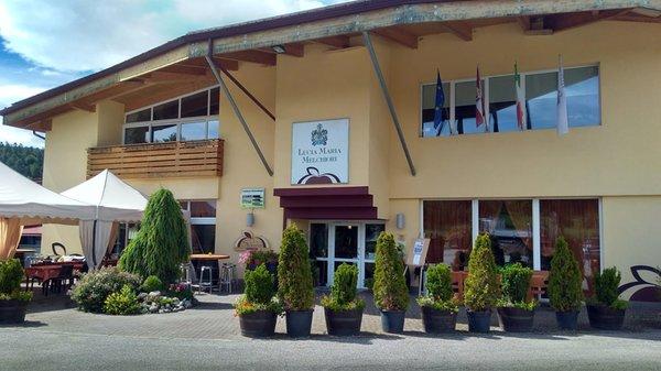 Photo exteriors in summer La Sidreria Melchiori