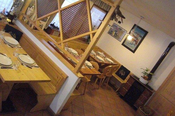 The restaurant Ruffrè-Mendola Agritur Al Ranch