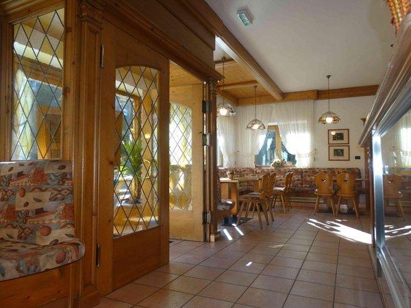 The restaurant Sfruz (Val di Non) Baita Sette Larici