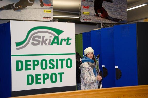 Präsentationsbild Ski Art Daolasa - Skiverleih