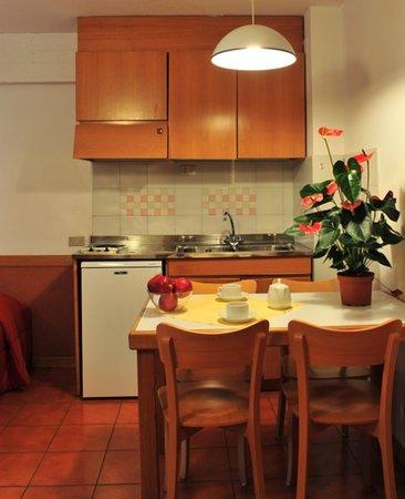 Foto della cucina Corte