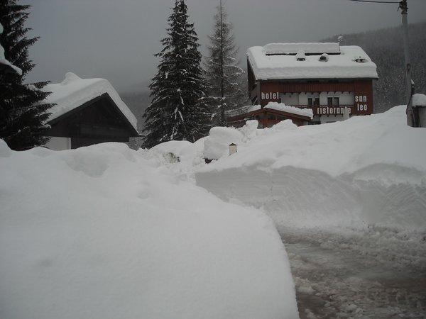 Foto invernale di presentazione San Leo - Hotel 3 stelle