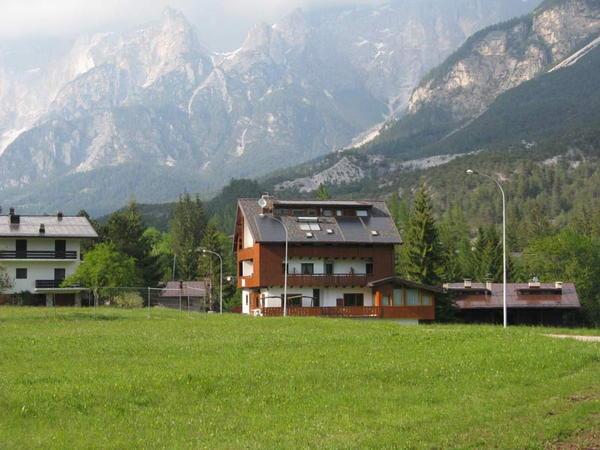 La posizione Hotel San Leo Borca di Cadore - Villanova