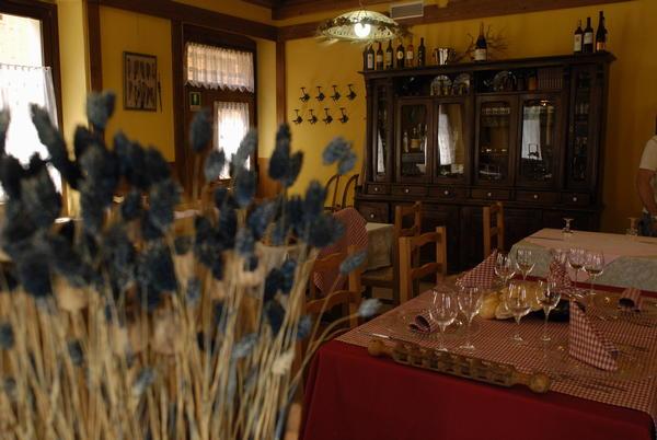 Il ristorante Cibiana di Cadore Remauro