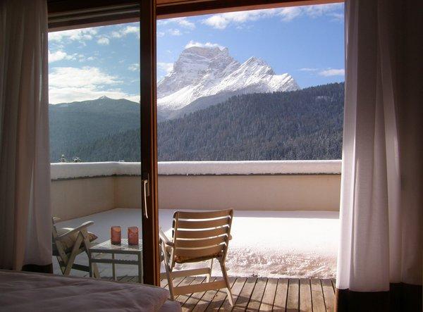 Foto del balcone Parkhotel Ladinia
