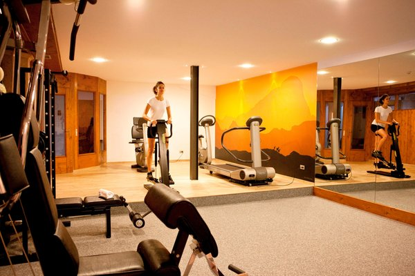 Photo of the fitness area Parkhotel Ladinia