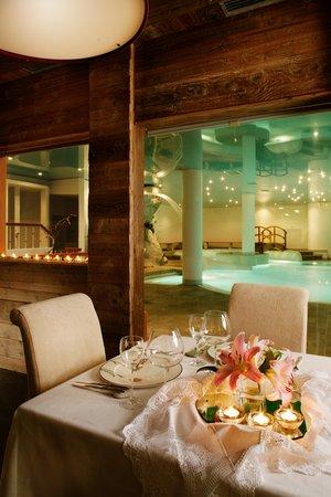 The restaurant San Vito di Cadore Parkhotel Ladinia