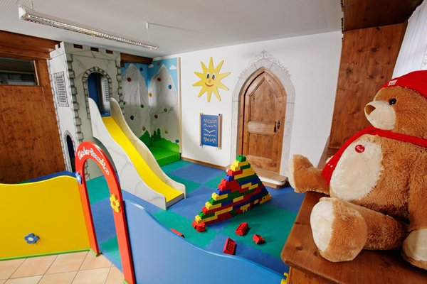 The children's play room Parkhotel Ladinia