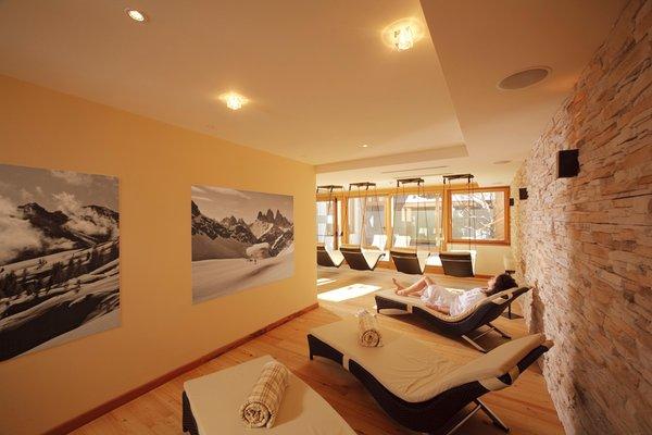 Photo of the wellness area Parkhotel Ladinia
