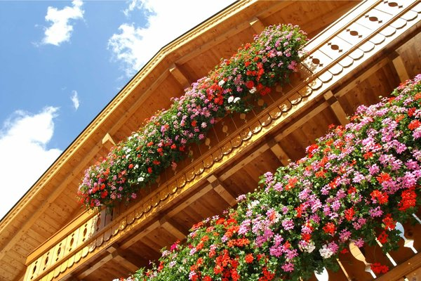 Foto del balcone Ciasa Vilin e dep. Ciasa Ruances