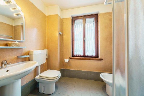 Foto del bagno Hotel Alemagna