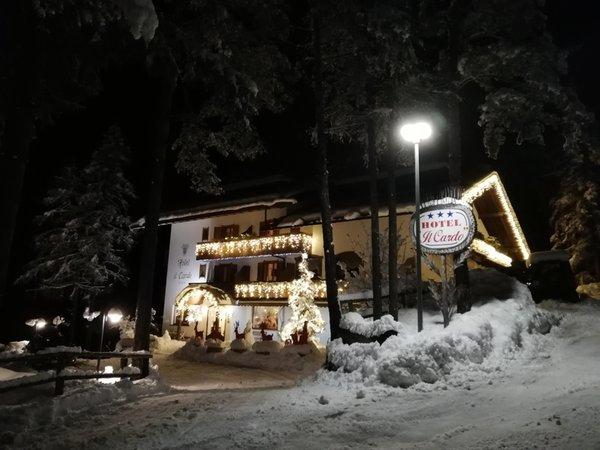 Foto Außenansicht im Winter Il Cardo