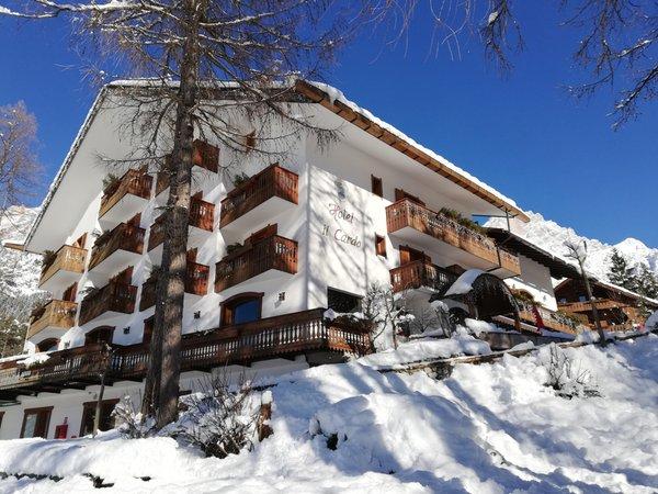 Winter Präsentationsbild Hotel Il Cardo