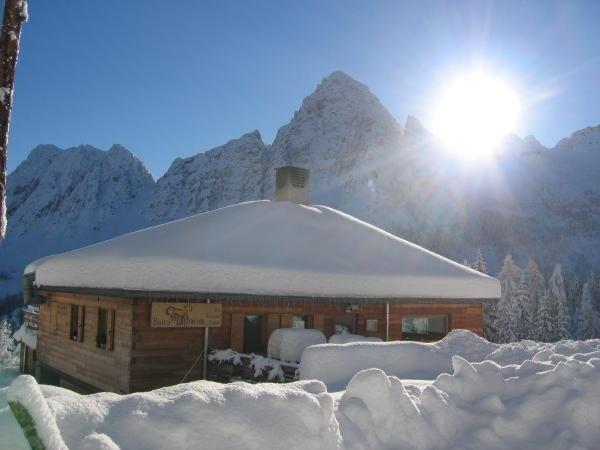 Foto invernale di presentazione Albergo Baita Deona