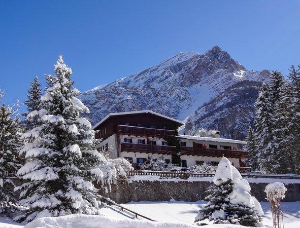 Foto invernale di presentazione Villa Belvedere - Appartamenti