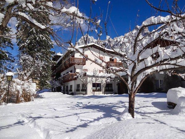 Foto esterno in inverno Villa Belvedere
