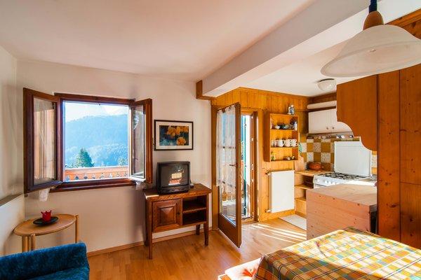 La zona giorno Villa Belvedere - Appartamenti