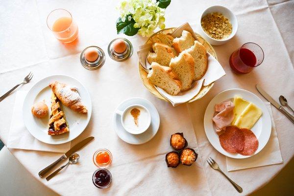 The breakfast Hotel Il Cervo